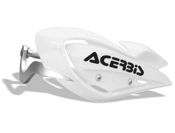 ACERBIS Kryt páček s výztuhou ATV - bílé