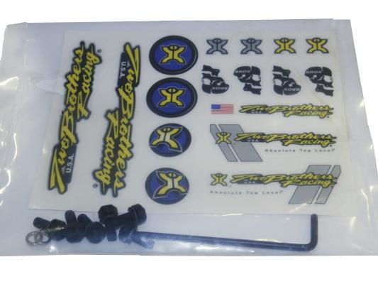 TBR Endcap Bolt Kit BLACK