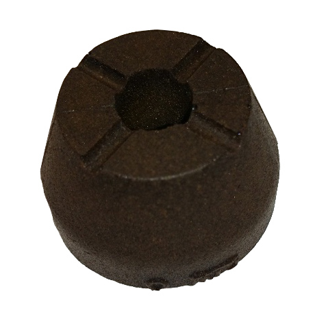 Bumper: B/O (0.498 Shaft, 0.883 TLG) MCU, black