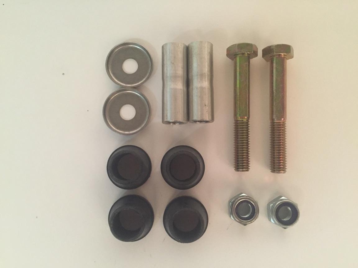 HOUSER Universal Handle Bar Clamp Rebuilt Kit (7/8´´, 1 1/8´´)