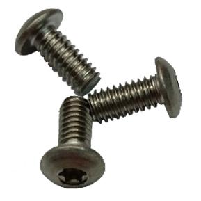 Fastener, Standard: Screw (#8-32X0.375LG)303SS, Button Head Torx Cap