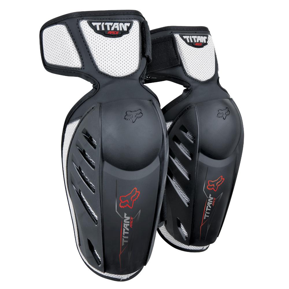 FOX Yth Titan Race Elbow Guards - OS, Black MX21