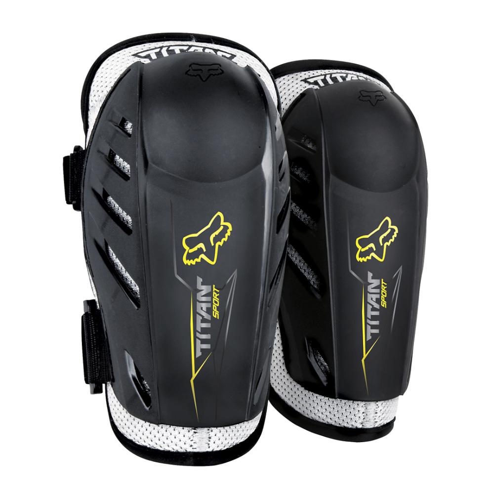 FOX Yth Titan Sport Elbow Guards - OS, Black MX21
