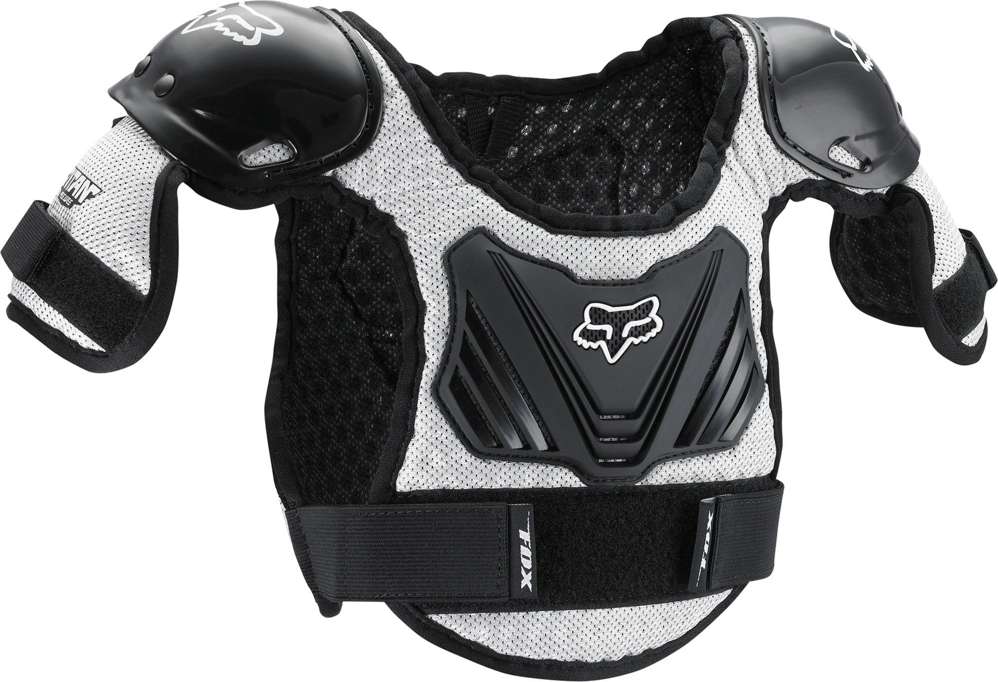 FOX Peewee Titan Roost Defle - Black/Silver MX22