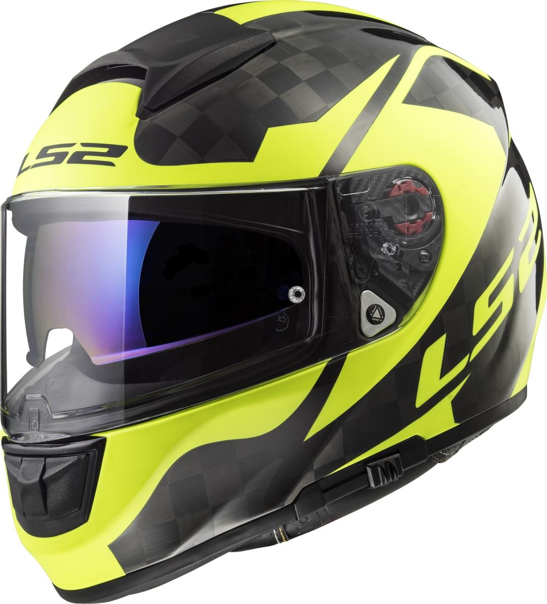 LS2 FF397 VECTOR C SHINE Carbon, H-V Yellow