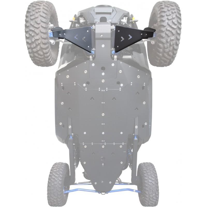 FRONT A-ARM GUARDS PHD - POLARIS RZR PRO XP