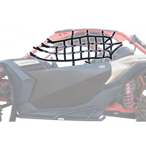 NET ROLL BAR (XRW white) - CAN-AM MAVERICK X3 XRS