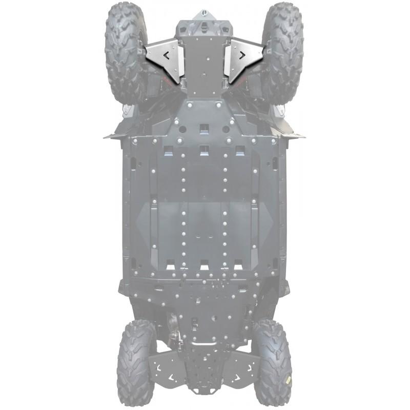 FRONT A-ARM GUARDS ALU - CAN-AM MAVERICK TRAIL