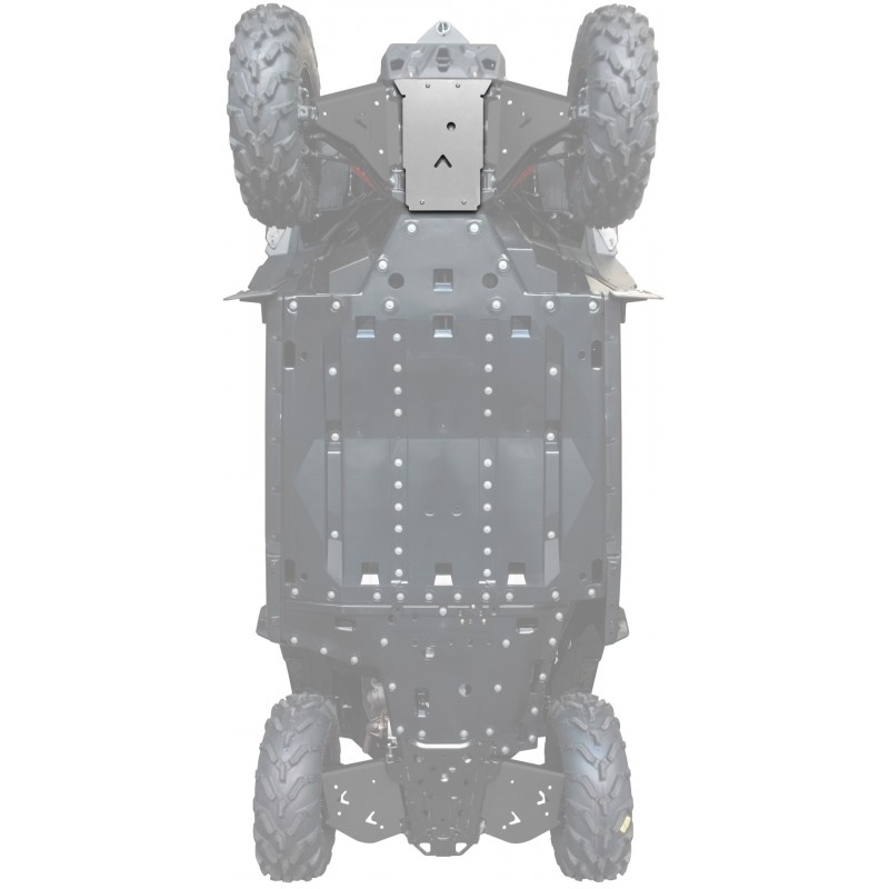 FRONT DIFF SKID PLATE ALU - CAN-AM MAVERICK TRAIL