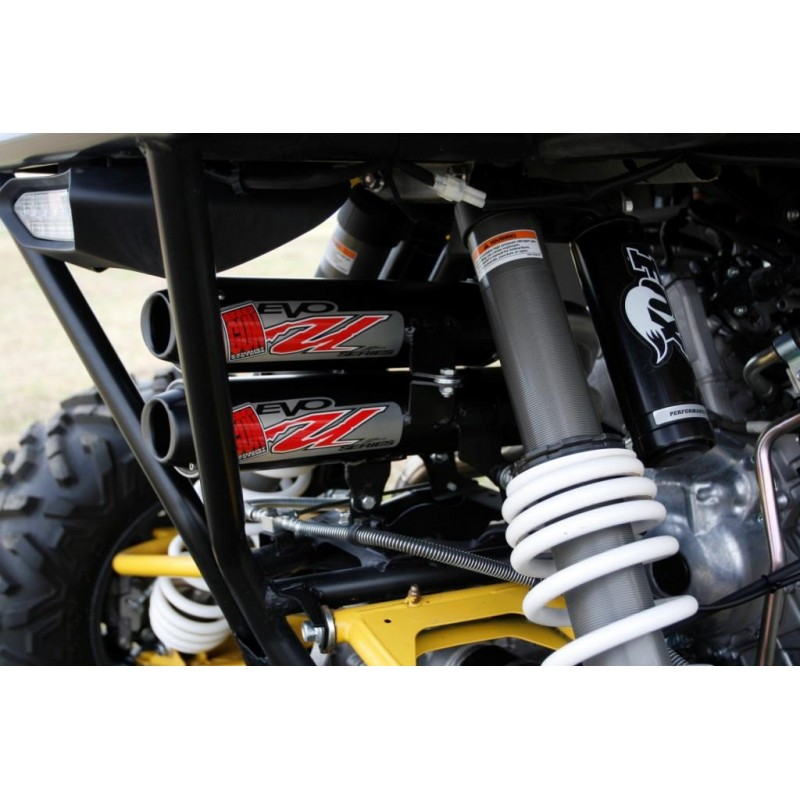 BIG GUN Yamaha YXZ 1000R (2016-20) Dual Mufflers/Three Head Pipes