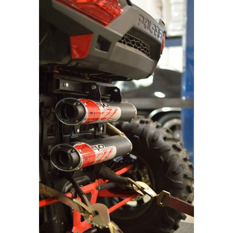 BIG GUN Polaris RZR XP 1000 TURBO/ RZR XP 4 TURBO (2016-20) EVO UTILITY Dual Slip On