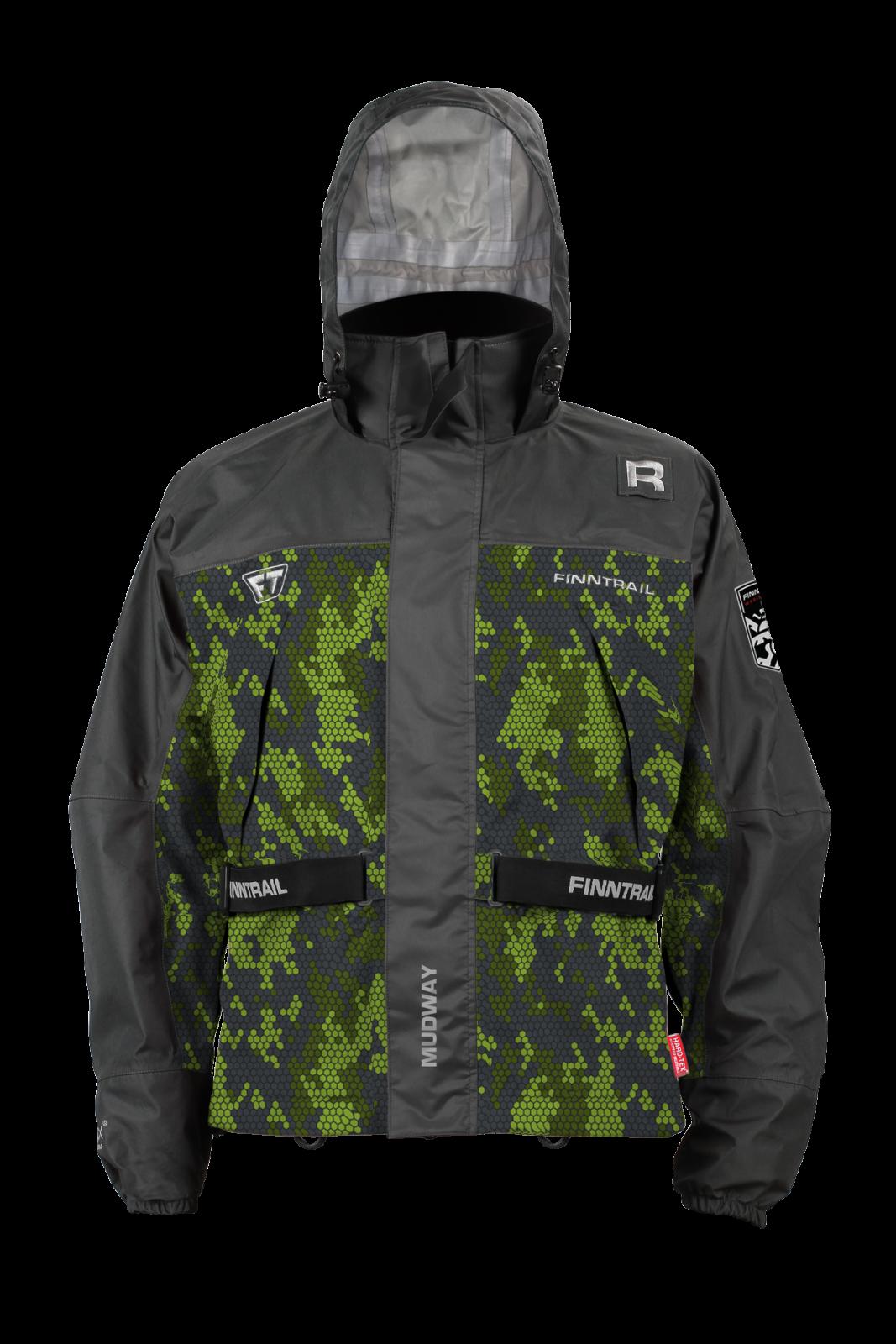 Finntrail Jacket Mudway CamoGreen