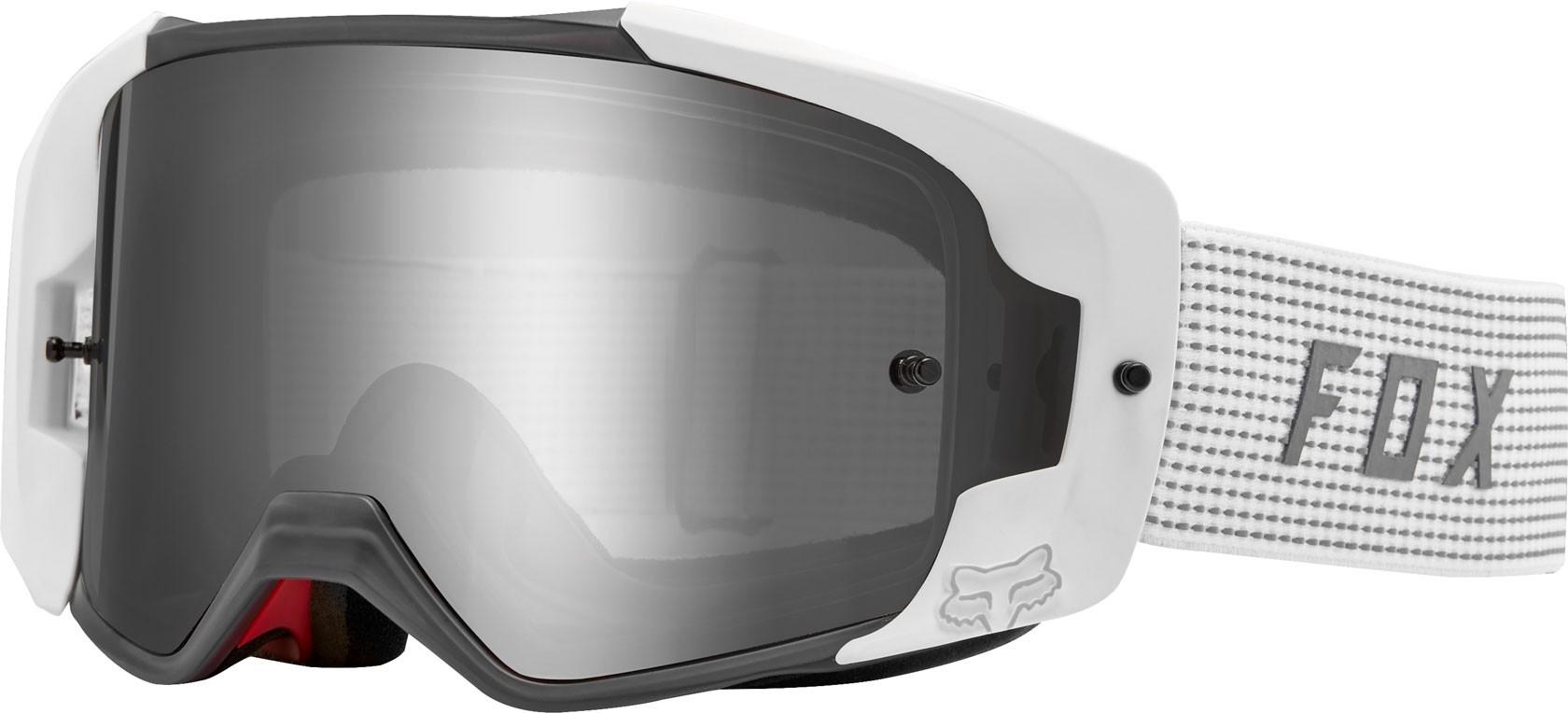 FOX Goggles Vue - NS, White,  MX18