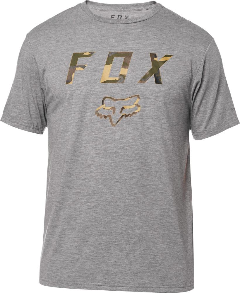FOX Cyanide Squad Ss Tech Tee, Heather Graphite, LFS18F
