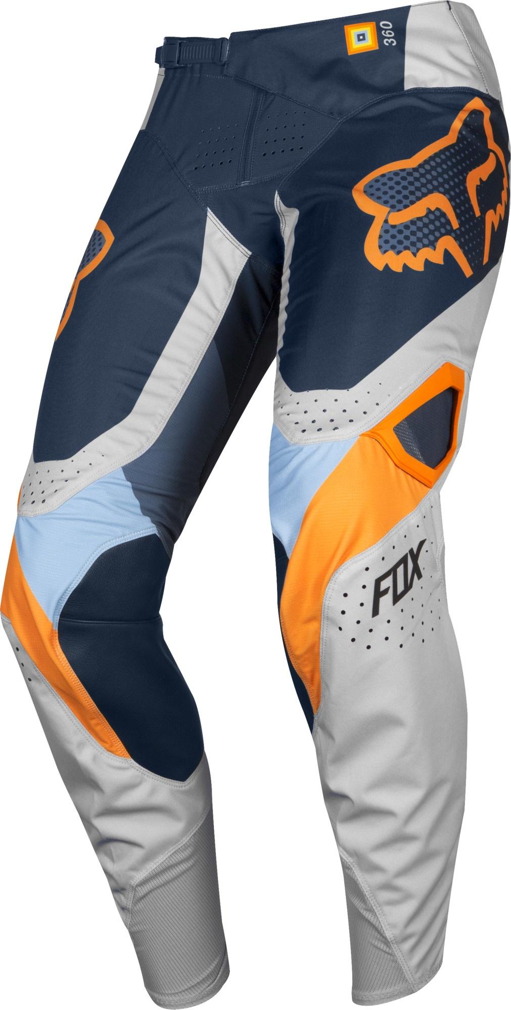 FOX 360 Murc Pant, Light Grey MX19