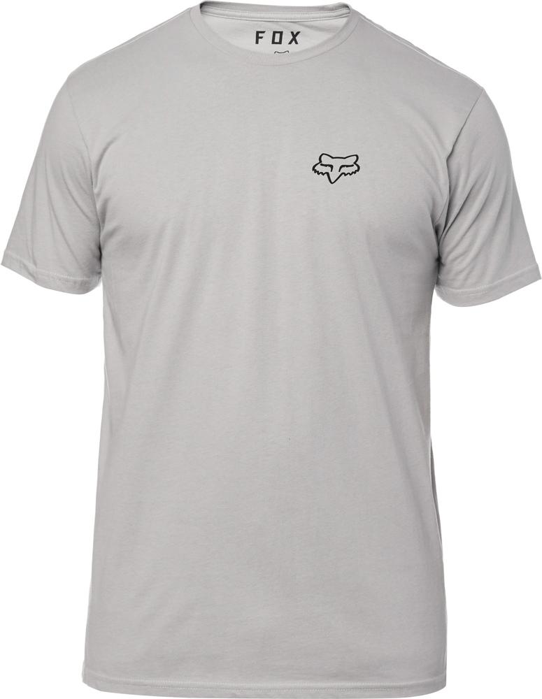 FOX Service Ss Premium Tee, Steel Grey, LFS18F