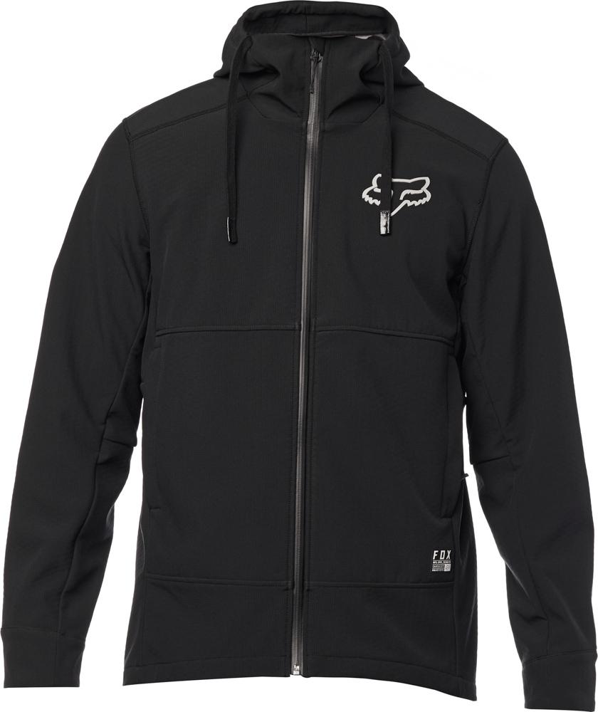 FOX Redplate Pit Jacket, Black/Grey, LFS18F