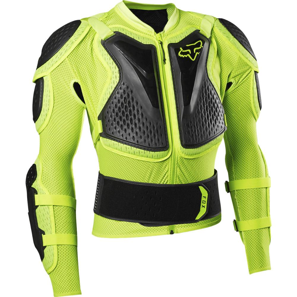 FOX Titan Sport Jacket - S, Fluo Yellow MX21