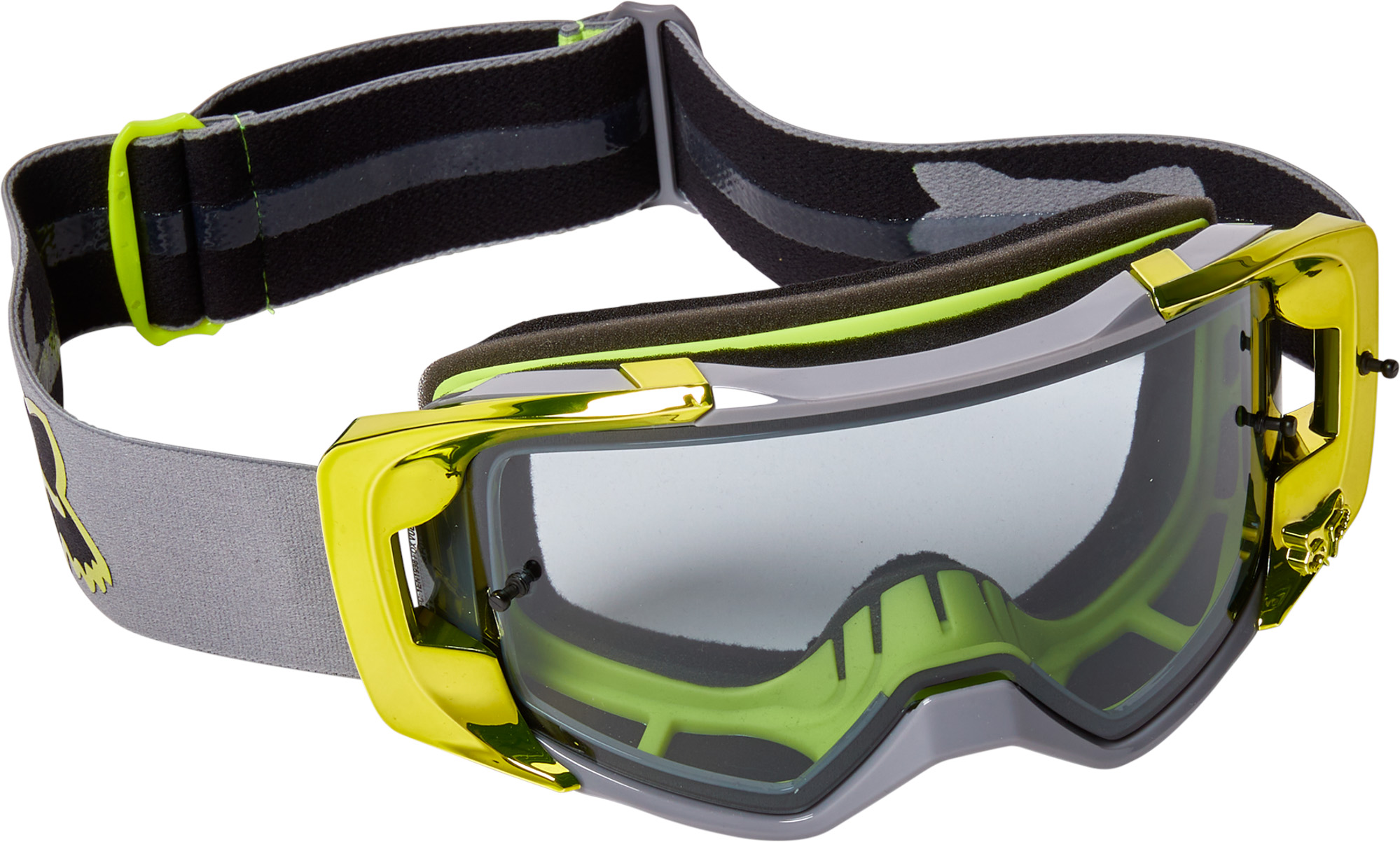 FOX Vue Stray Goggle - OS, Fluo Yellow MX22