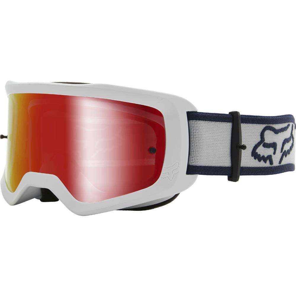 FOX Main Barren Goggle - Spark - OS, White MX21