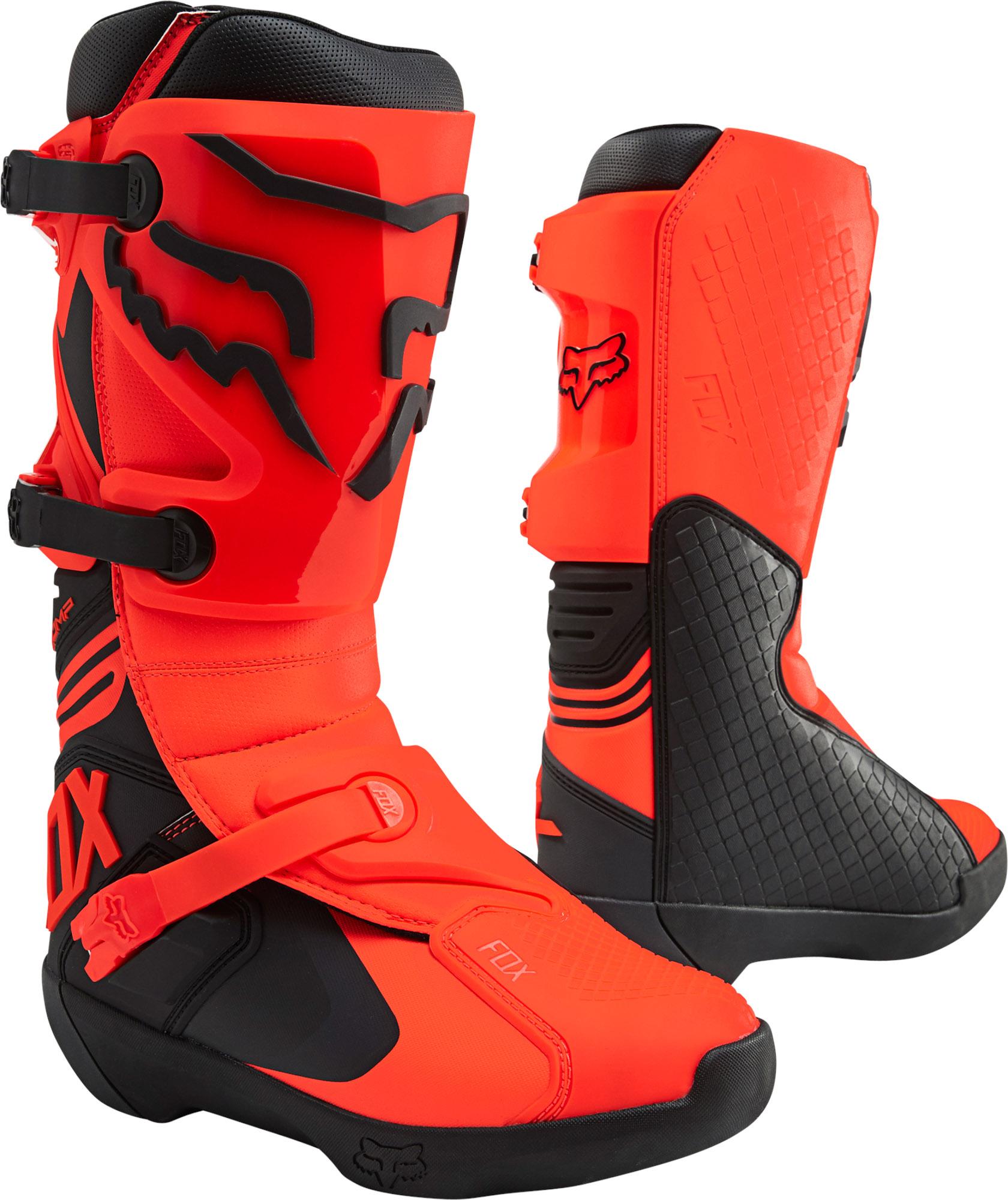 FOX Comp Boot - Fluo Orange MX22
