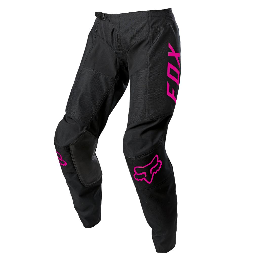 FOX Wmns 180 Djet Pant - Black/Pink MX21