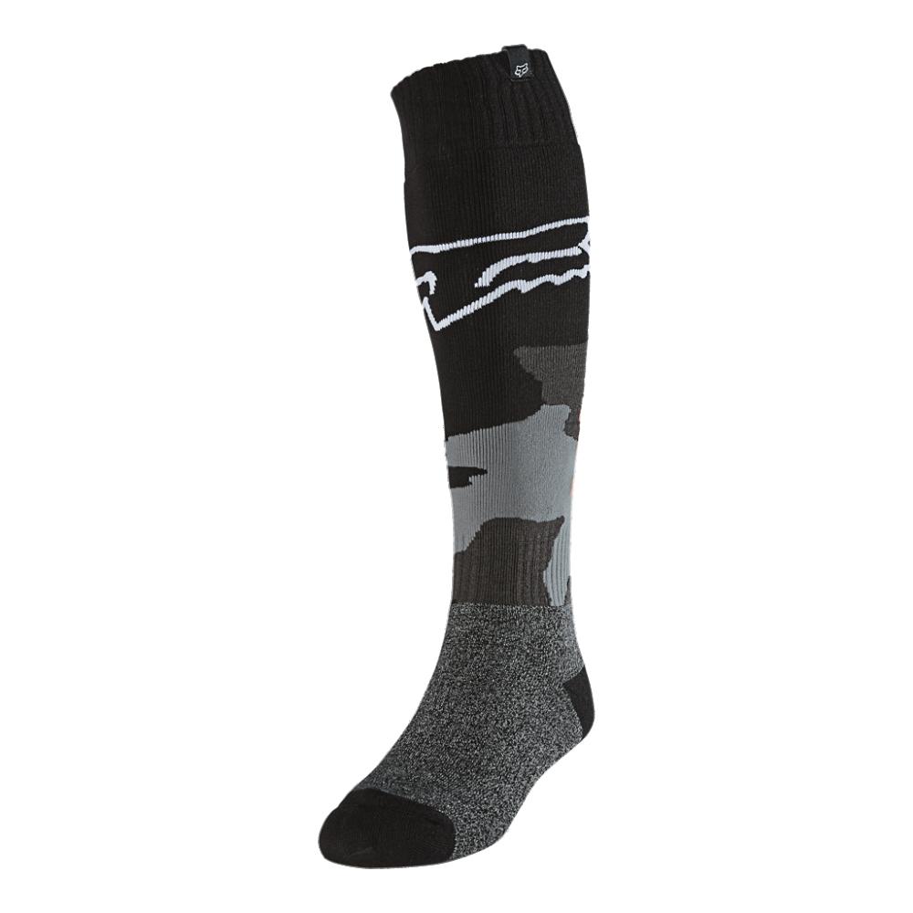 FOX Fri Thin Sock - Revn - Black Camo MX21