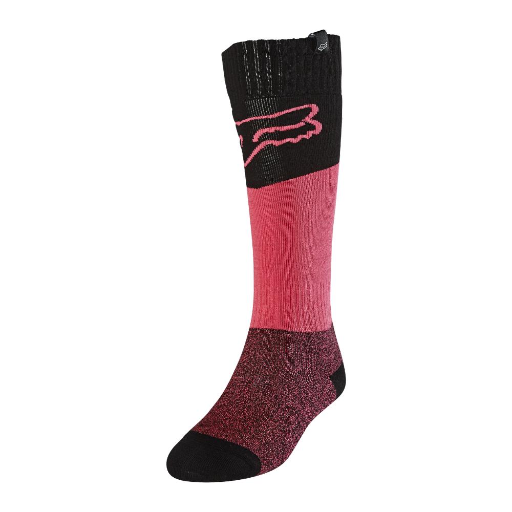 FOX Wmns Sock - Revn - OS, Black/Pink MX21