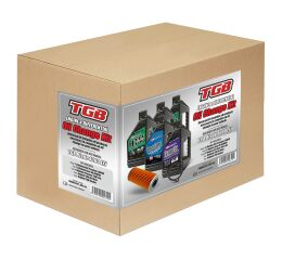 Oil change kit + diff. - TGB 1000 (1pc filter, 1pc gasket, 5l oil)