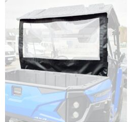 REAR COVER, LINHAI T-BOSS 550 EPS black, 130x96cm