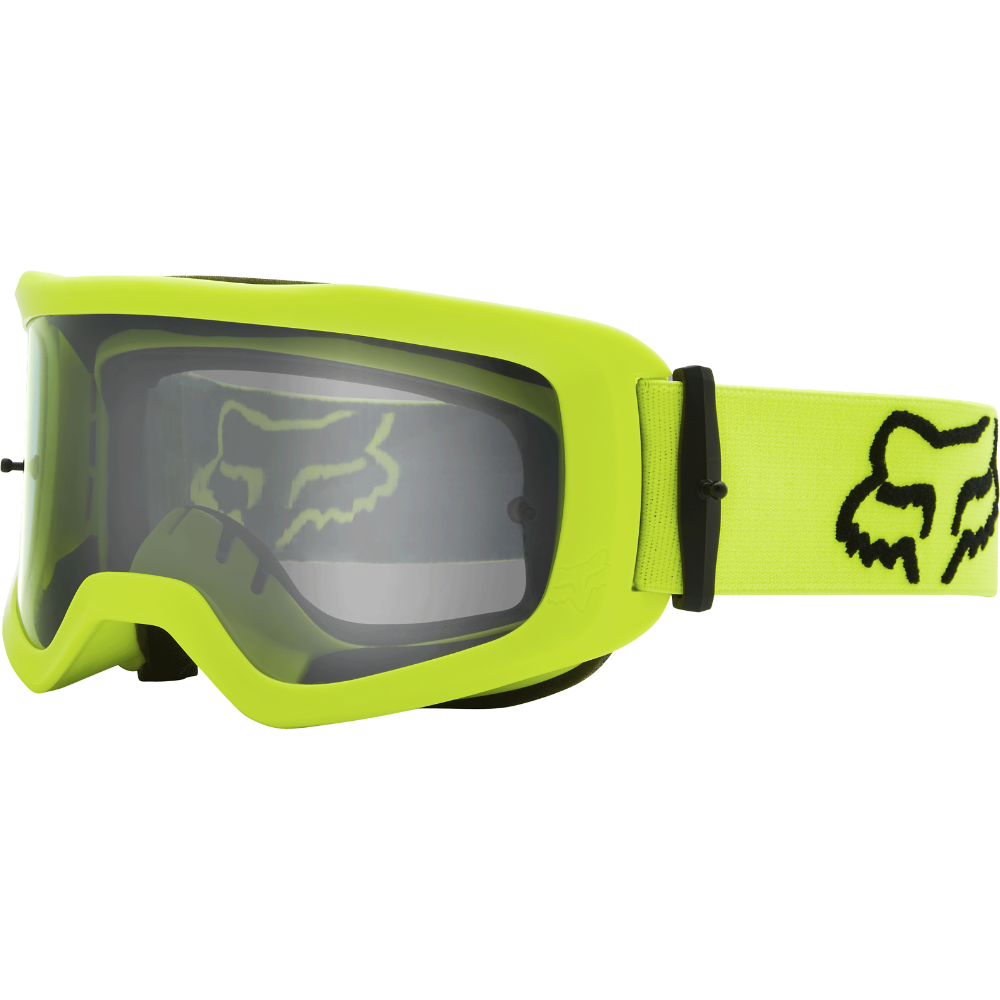 FOX Main S Stray Goggle - OS, Fluo Yellow MX21