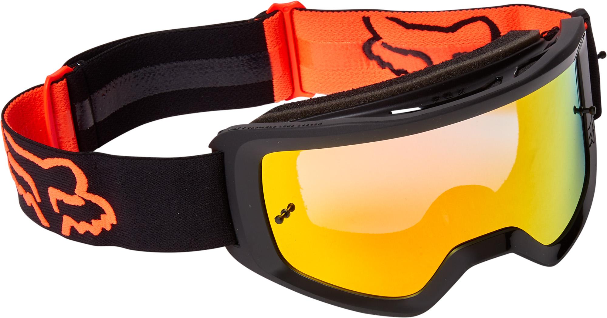 FOX Main Stray Goggle - Spark - OS, BLACK/ORANGE MX22