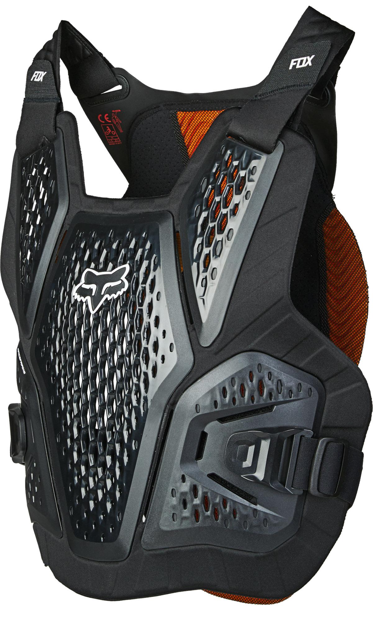 FOX Raceframe Impact Sb, Ce D3O - Black MX22