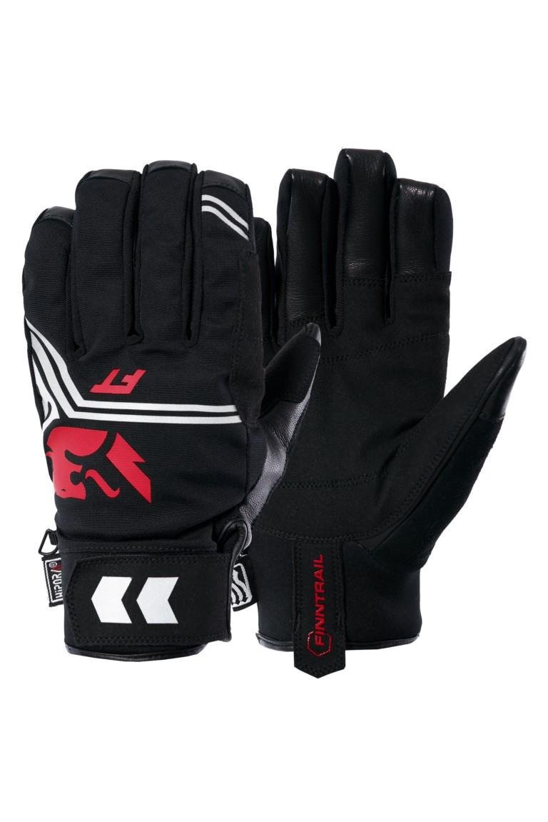 Finntrail Gloves GT GraphiteRed