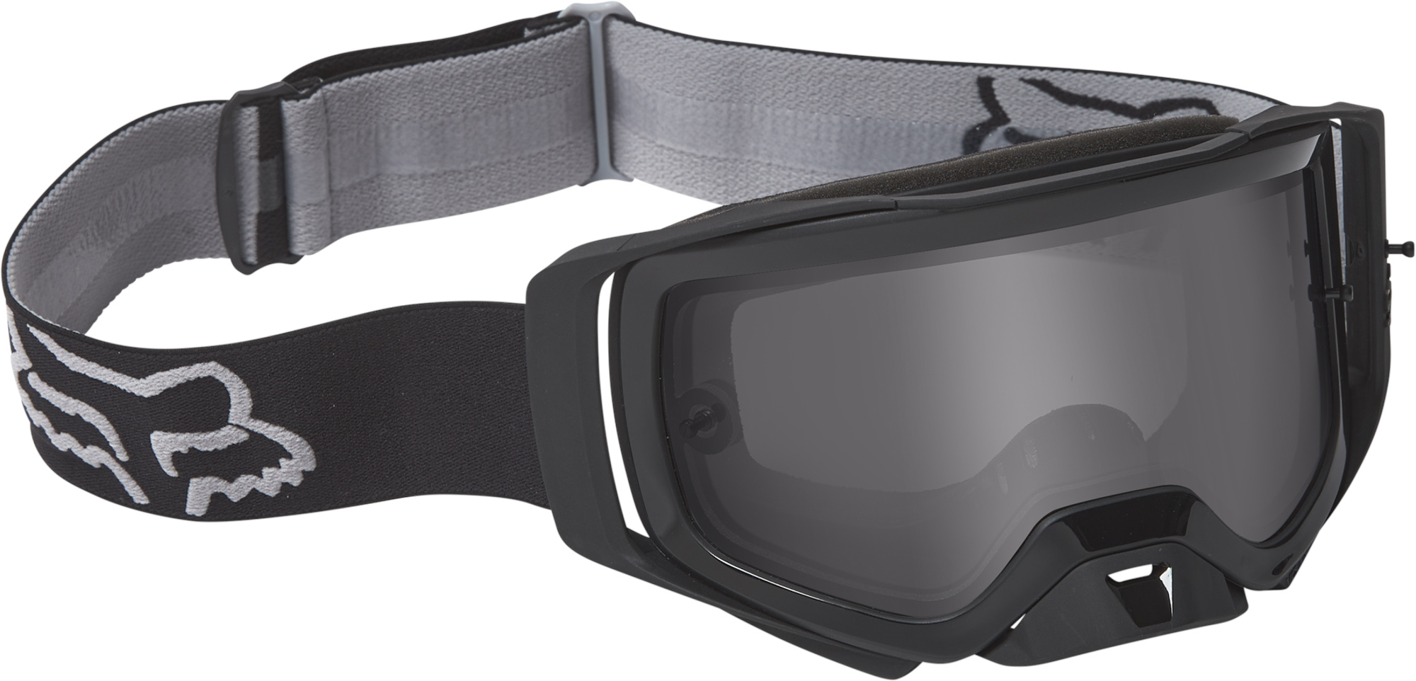 FOX Airspace X Stray Goggle - OS, BLACK/GREY MX22