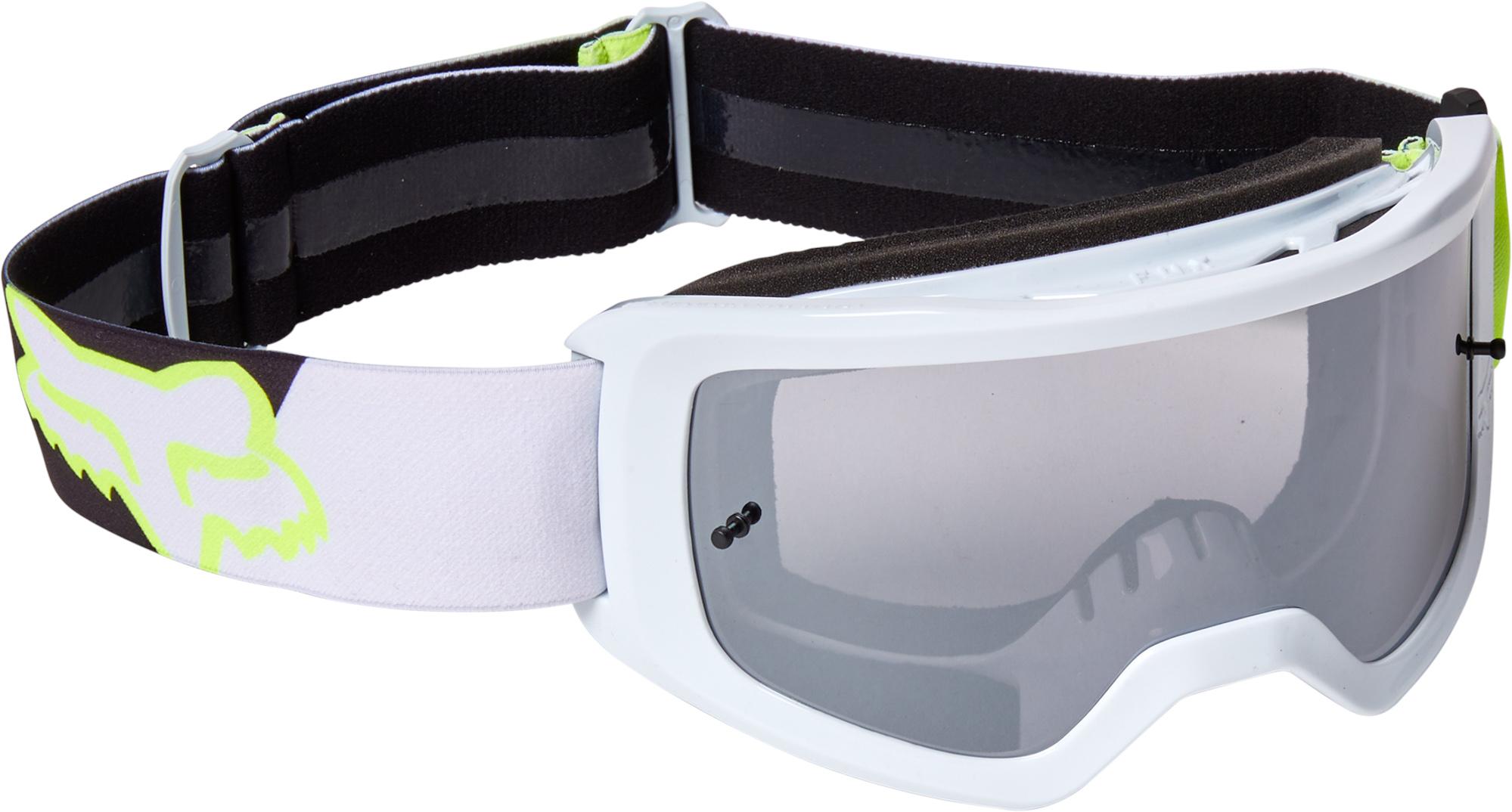 FOX Main Skew Goggle - Spark - OS, Fluo Yellow MX22