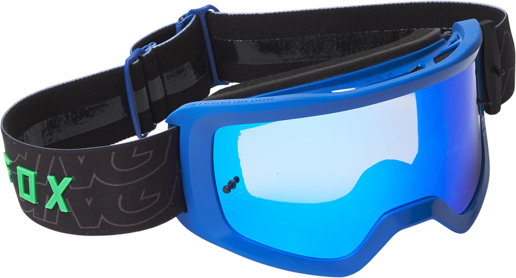 FOX Main Peril Goggle - Spark - OS, Blue MX22