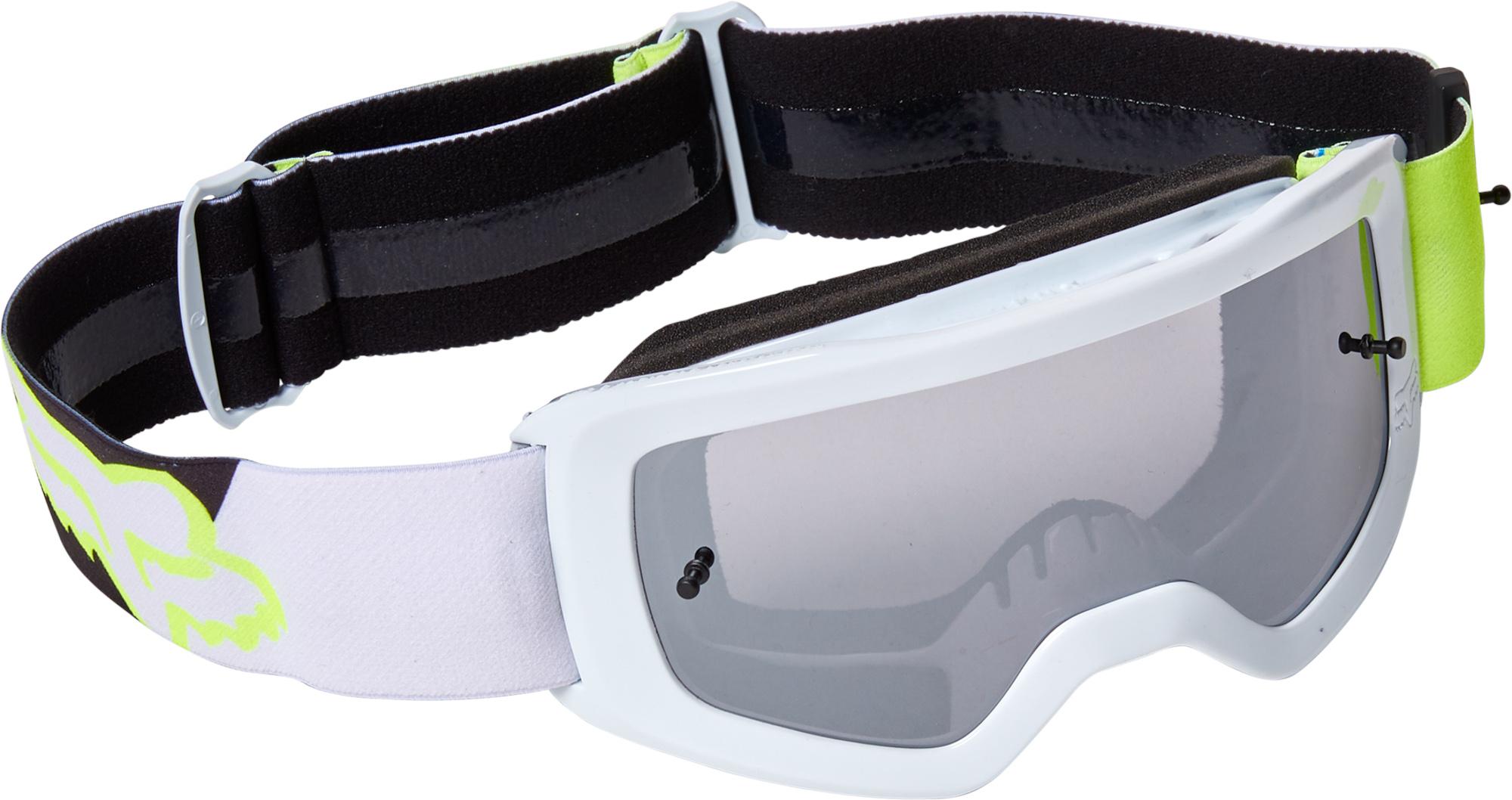 FOX Yth Main Skew Goggle Spk - OS, Fluo Yellow MX22