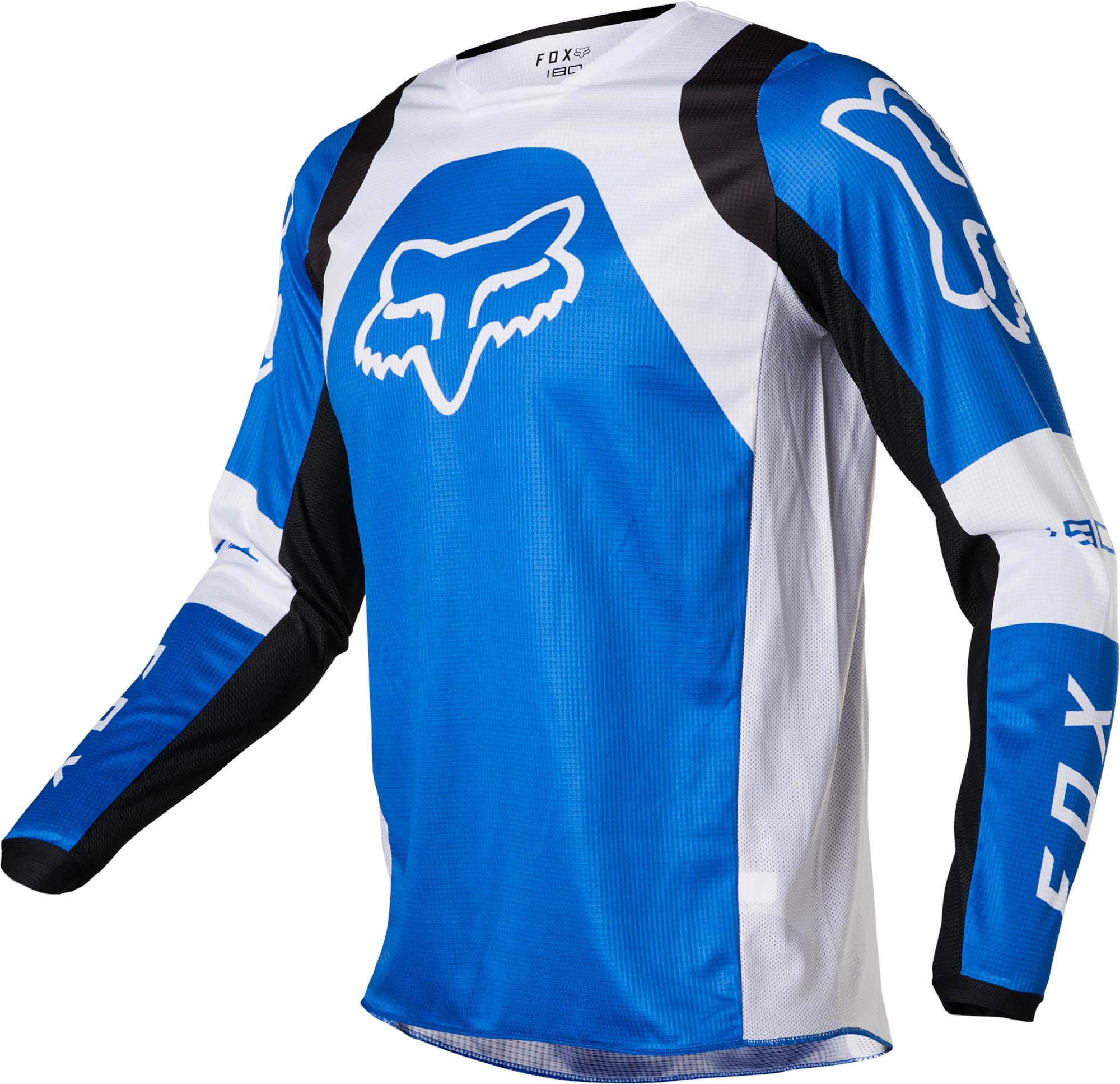 FOX 180 Lux Jersey - Blue MX22