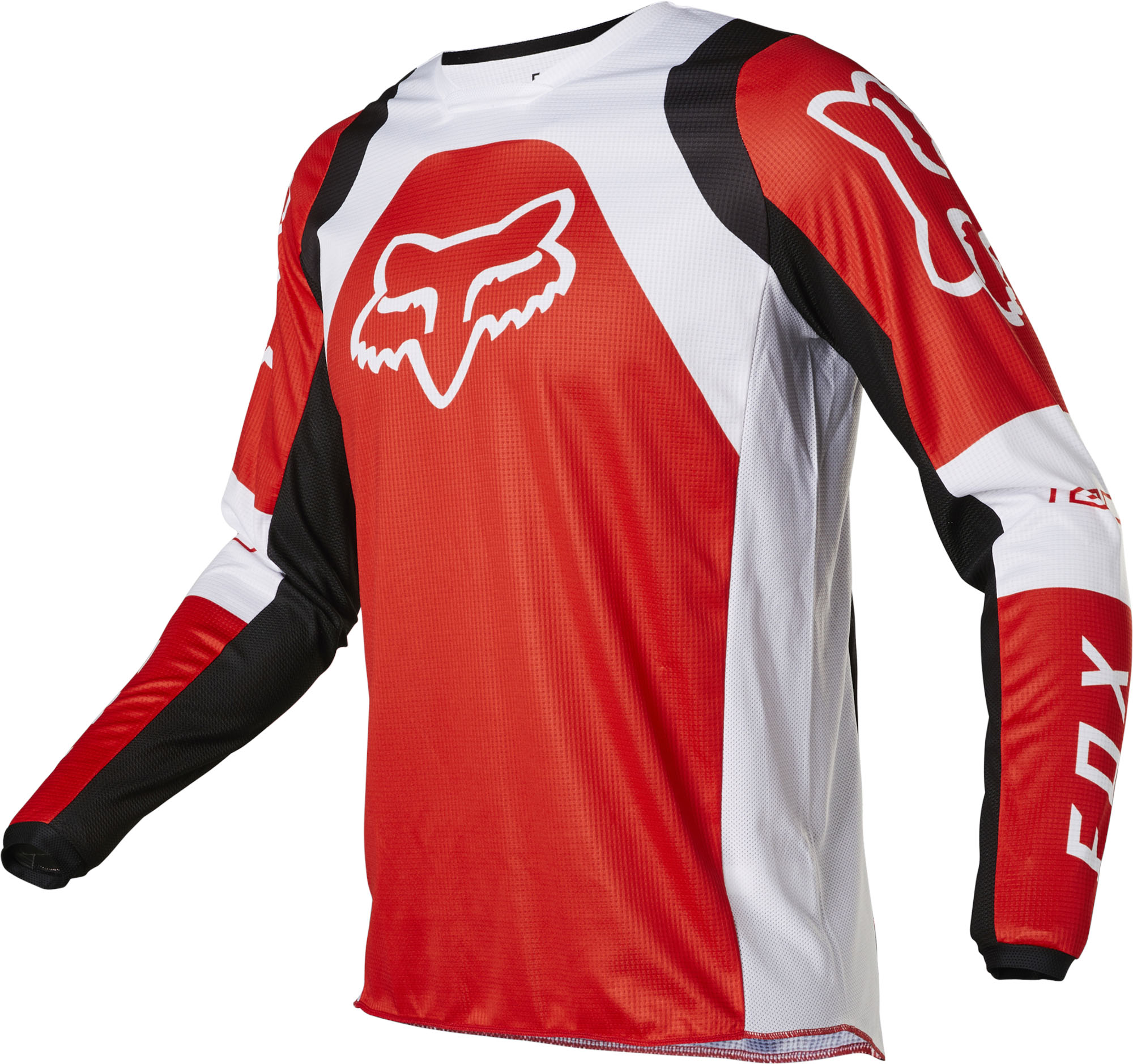 FOX 180 Lux Jersey - Fluo RED MX22