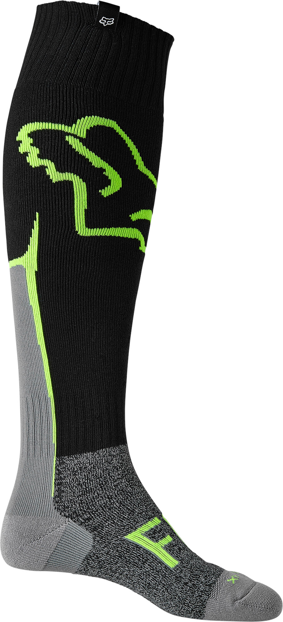 FOX Cntro Coolmax Thin Sock - Black MX22
