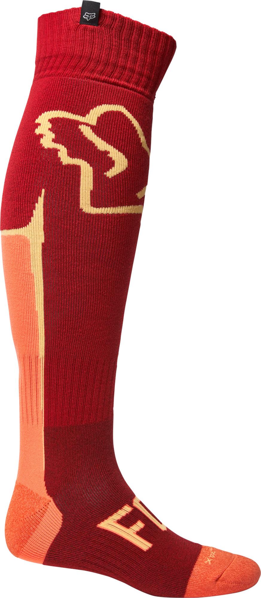 FOX Cntro Coolmax Thin Sock - Flame RED MX22