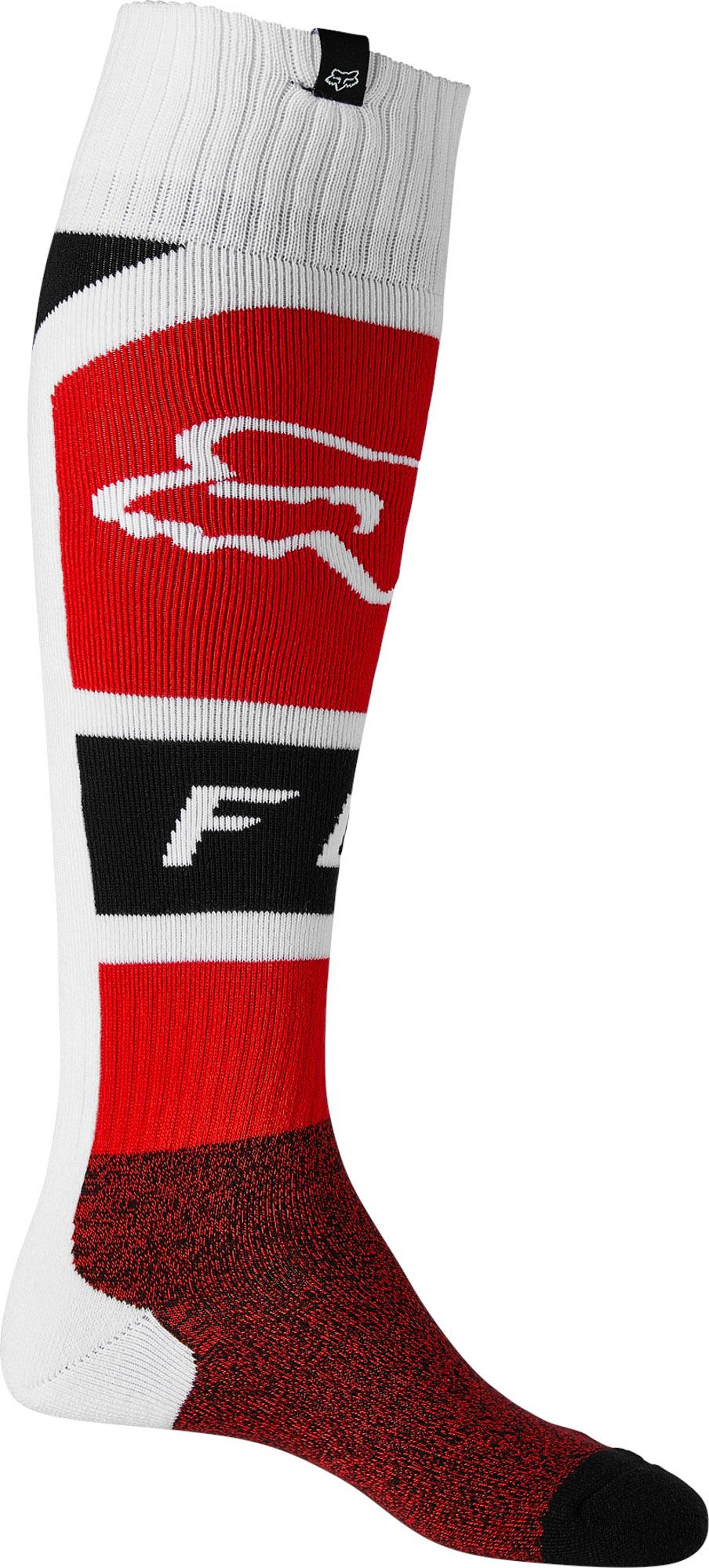 FOX Lux Fri Thin Sock - Fluo RED MX22