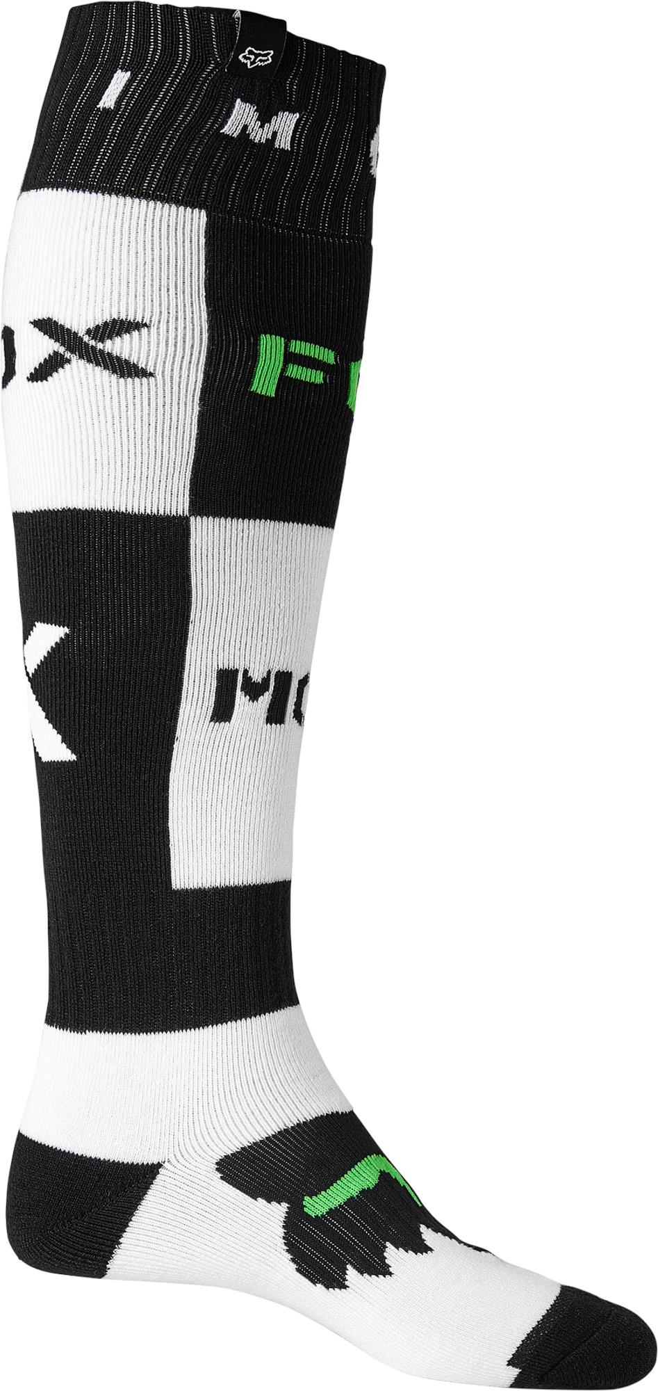 FOX Nobyl Fri Thick Sock - Black MX22