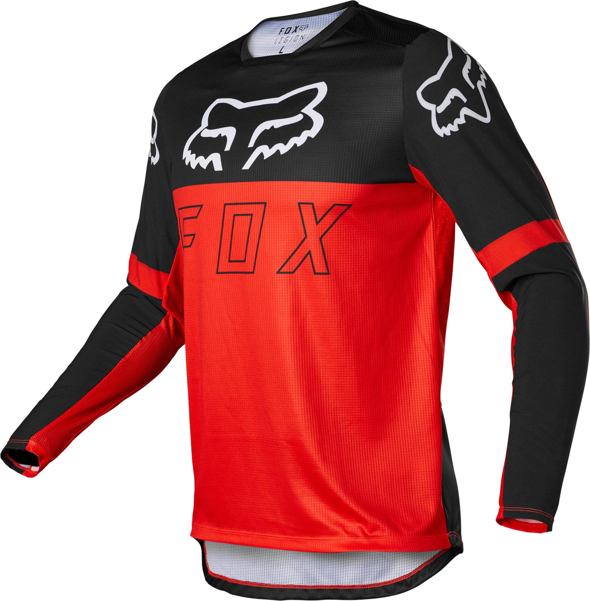 FOX Legion Lt Jersey - Fluo RED MX22