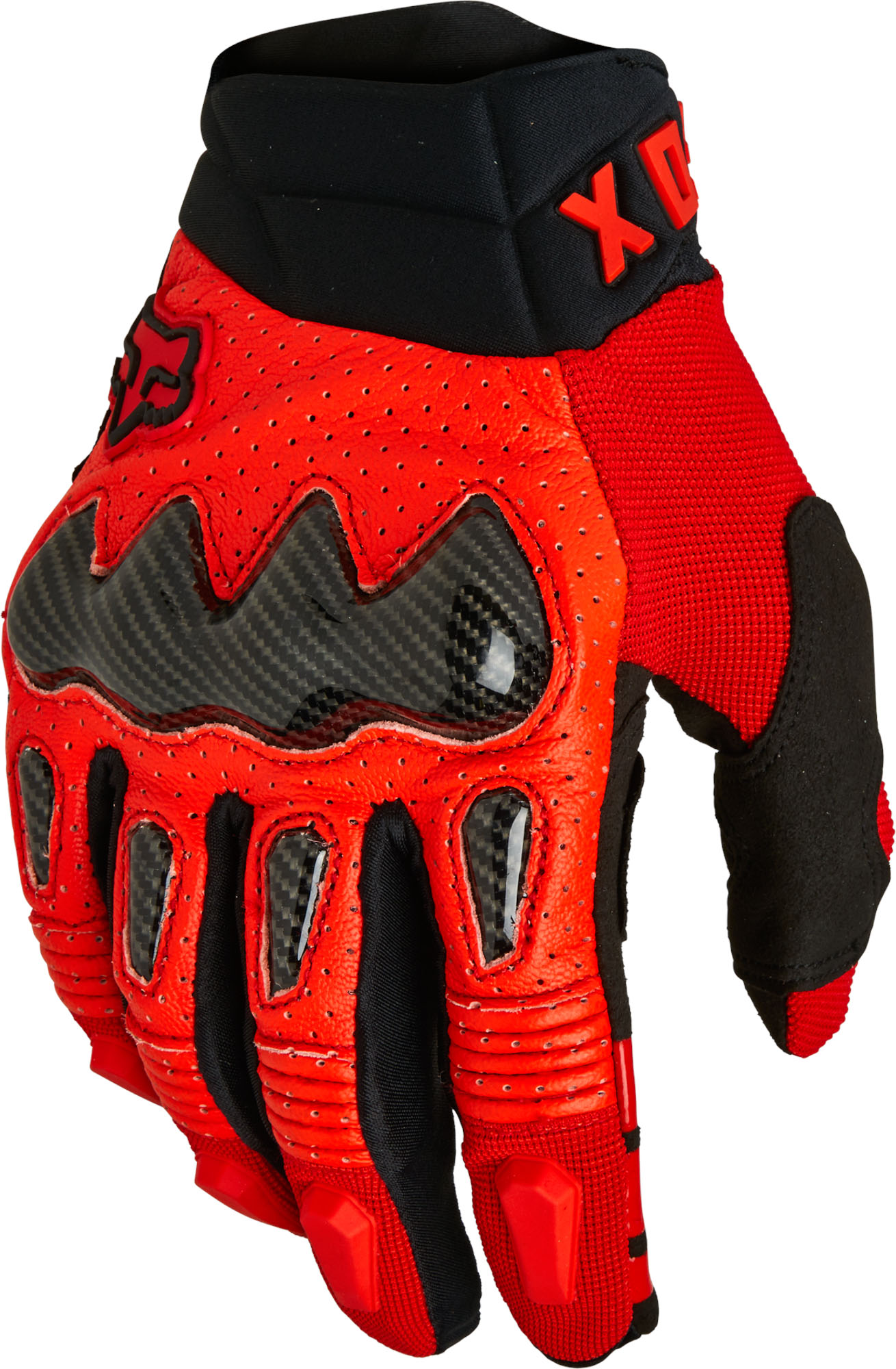 FOX Bomber Glove Ce - Fluo RED MX22