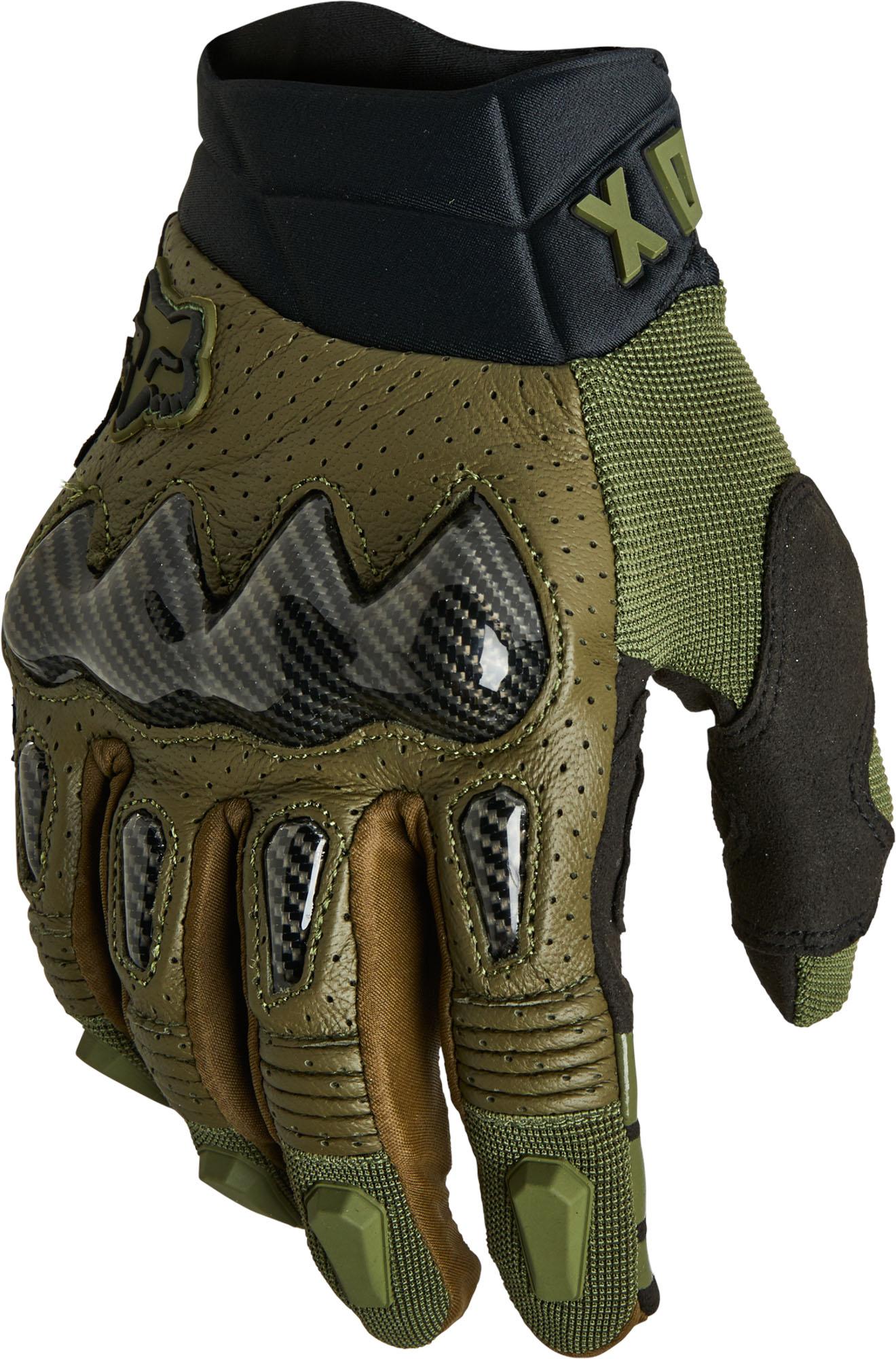 FOX Bomber Glove Ce - Green MX22