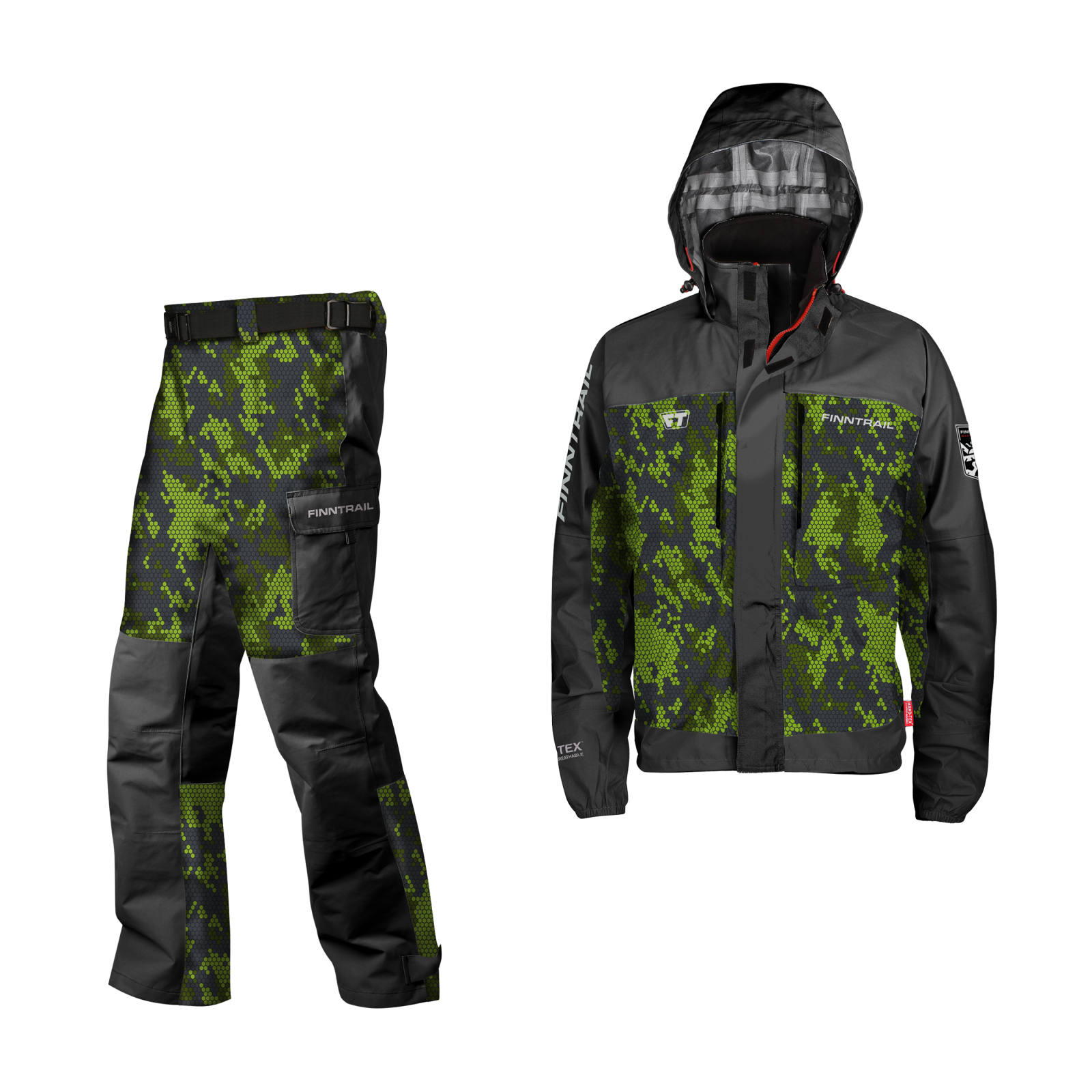 Finntrail Suit Shooter CamoGreen
