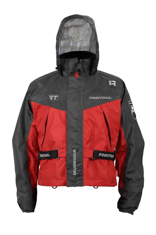 Finntrail Jacket Mudrider Red