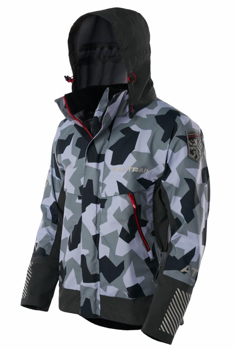Finntrail Jacket Speedmaster CamoLightGrey